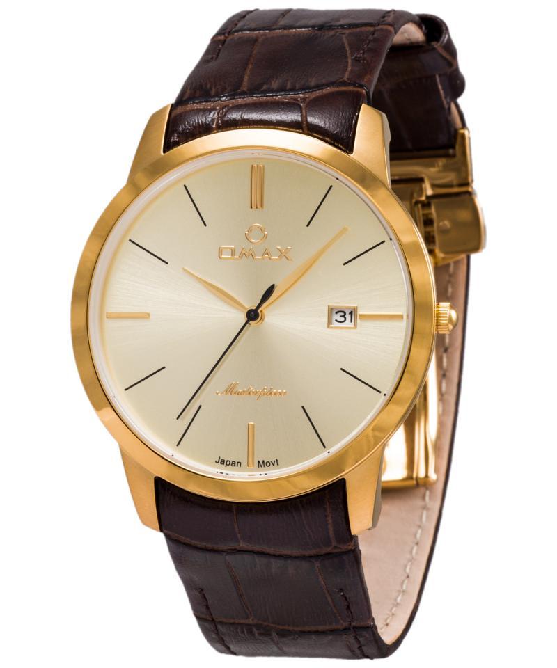 OMAX MG01G15I Men's Wrist Watch