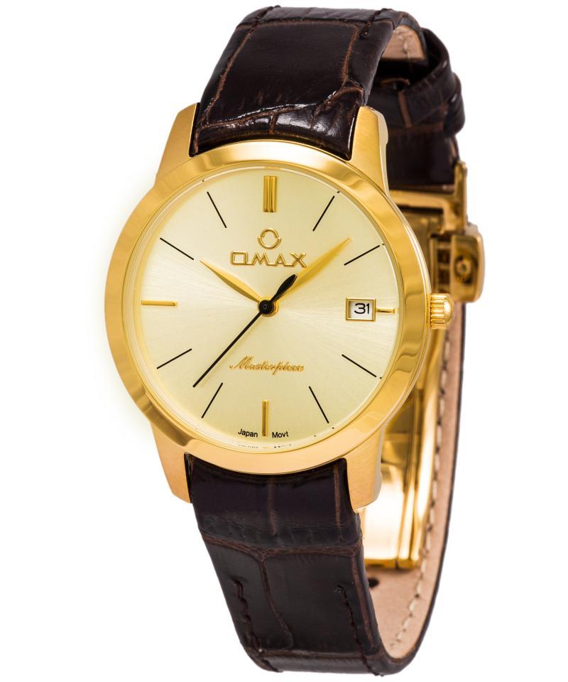 OMAX ML01G15I Men's Wrist Watch