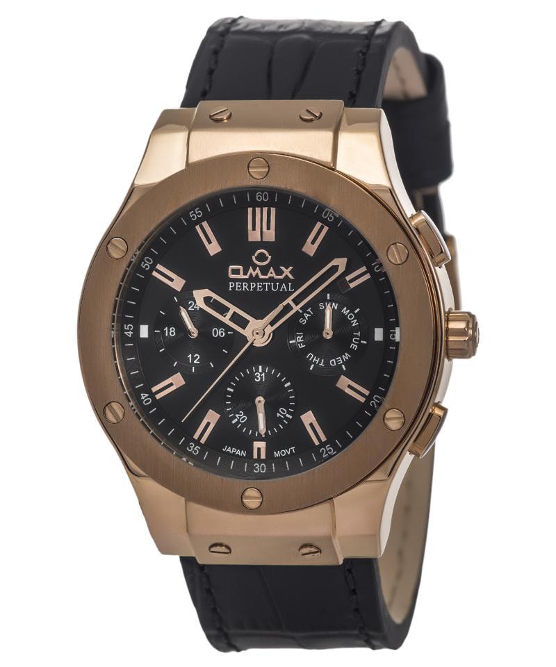 OMAX PG01R22I Men's Wrist Watch
